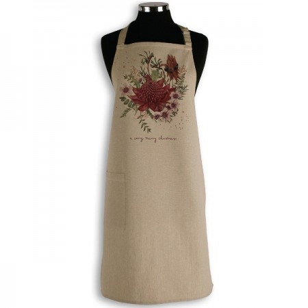 The Linen Press - A Very Merry Christmas Apron LAST CHANCE!