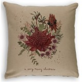 The Linen Press - A Very Merry Christmas Cushion Cover