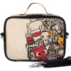 SoYoung Insulated Raw Linen Lunch Box - Pixopop Pishi