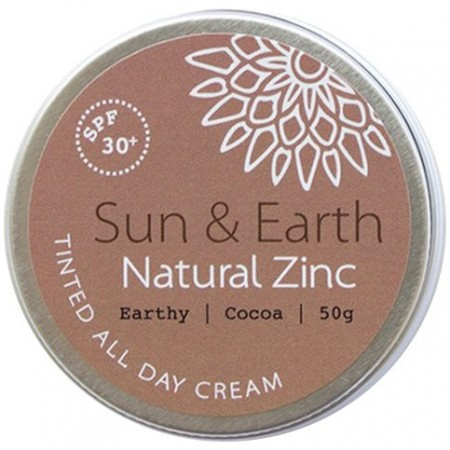 Sun & Earth Natural Zinc - Earthy Cocoa