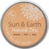 Sun & Earth Natural Zinc - Sunny Tan