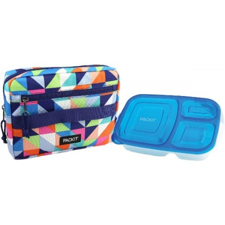 PackIt Freezable Bento Box Set - Paradise Breeze