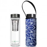 BBBYO Glass Tea Flask with Cover 500ml - Tokyo