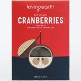 Loving Earth Choc-Coated Cranberries 100g