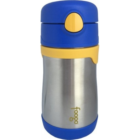 Thermos Foogo Stainless Steel Bottle 290ml - Blue