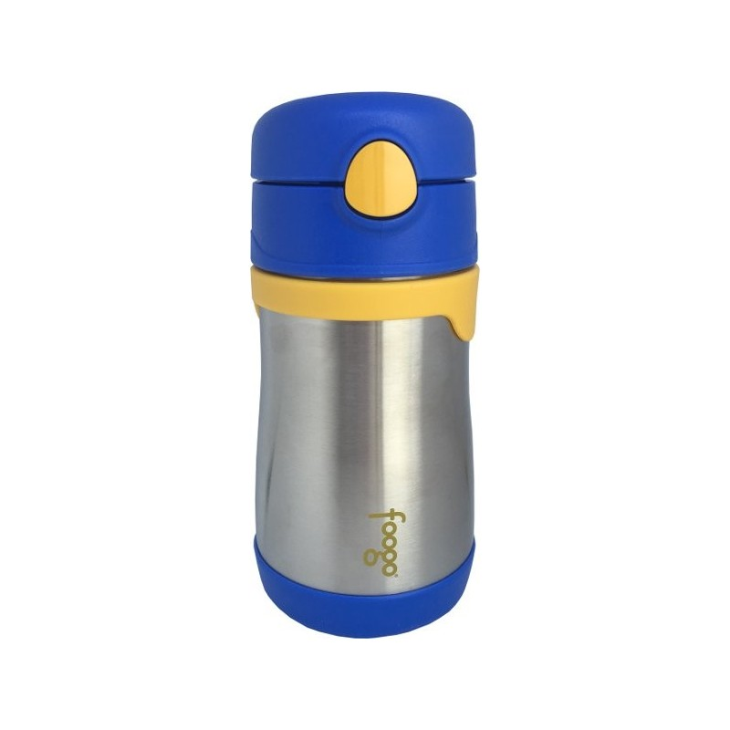 Thermos Foogo Stainless Steel Bottle 290ml - Blue - Biome Eco Stores