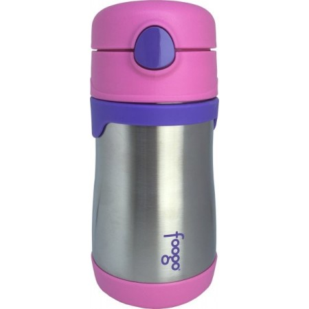 Thermos Foogo Stainless Steel Bottle 290ml - Pink | Biome