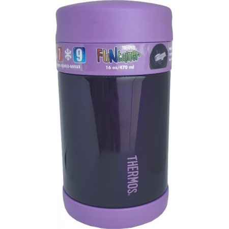 Thermos Funtainer Food Jar Purple - 470ml