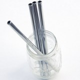 Stainless Steel Safety Straw 9mm Smoothie