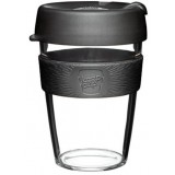 KeepCup Medium Clear Plastic Coffee Cup 12oz (355ml) - Origin