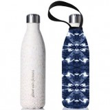BBBYO Stainless Steel Water Bottle with Cover 750ml - Shibori