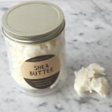 Shea Butter Certified Organic in Glass Jar 250g