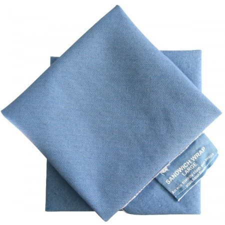 4MyEarth Sandwich Wrap Large single (1) - Denim