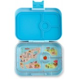 Yumbox Lunch Box - Panino 4 Compartment Liberty Light Blue