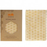 Queen B Beeswax Bread Wrap (Single) - Neutral Pattern