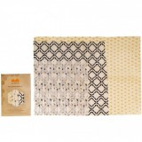 Queen B Beeswax Assorted Wraps (3pk) - Neutral Pattern
