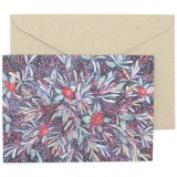 Oh Crumbs Art Watercolour Card - Waratah & Banksia