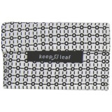 Keep Leaf Medium Baggie - Black & White