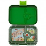 Yumbox Lunch Box - Panino 4 Compartment Brooklyn Dark Green