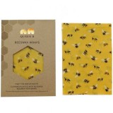 Queen B Beeswax Bread Wrap (Single) - Limited Edition Bees