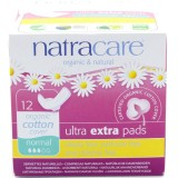 Natracare Organic Cotton Ultra Extra Pads 12pk - Normal