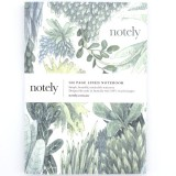 Notely 200 Page Lined Journal - Botanical