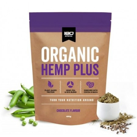 180 Nutrition Organic Hemp Plus Protein Powder 480g