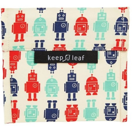 Keep Leaf Large Baggie - Robots