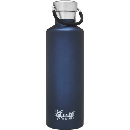 Cheeki 600ml Stainless Steel Insulated Bottle - Ocean
