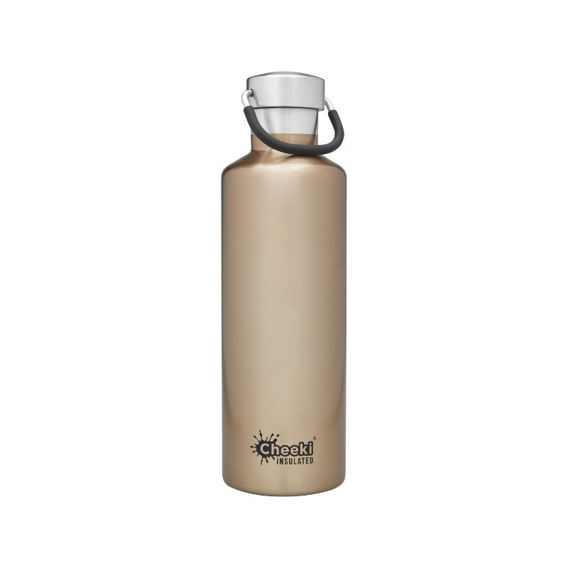 Cheeki 600ml Stainless Steel Insulated Bottle - Champagne