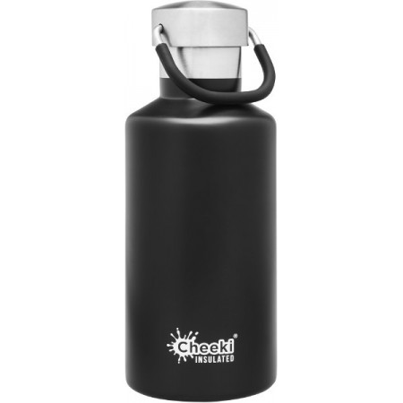 Cheeki 400ml Stainless Steel Insulated Bottle - Matte Black