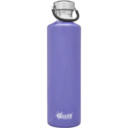 Cheeki 1L Stainless Steel Water Bottle - Lavender