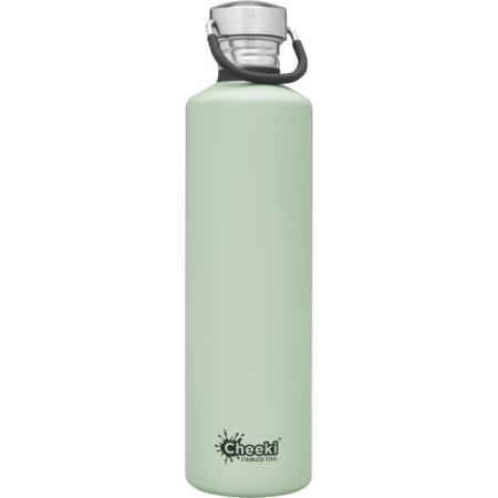 Cheeki 1L Stainless Steel Water Bottle - Pistachio