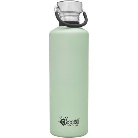 Cheeki 750ml Stainless Steel Water Bottle - Pistachio