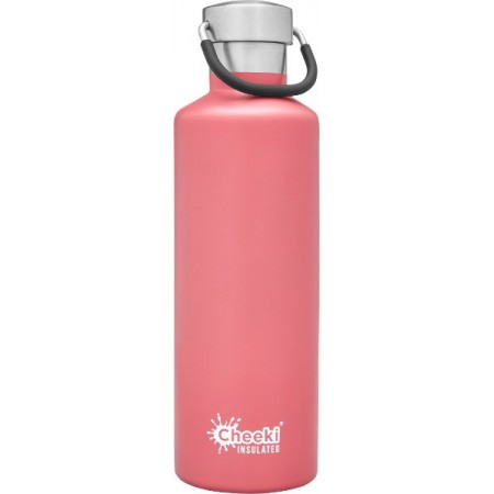 Cheeki 600ml Stainless Steel Insulated Bottle - Dusty Pink