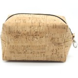 Cork Fabric Toiletries Multi-purpose Bag - Maxi