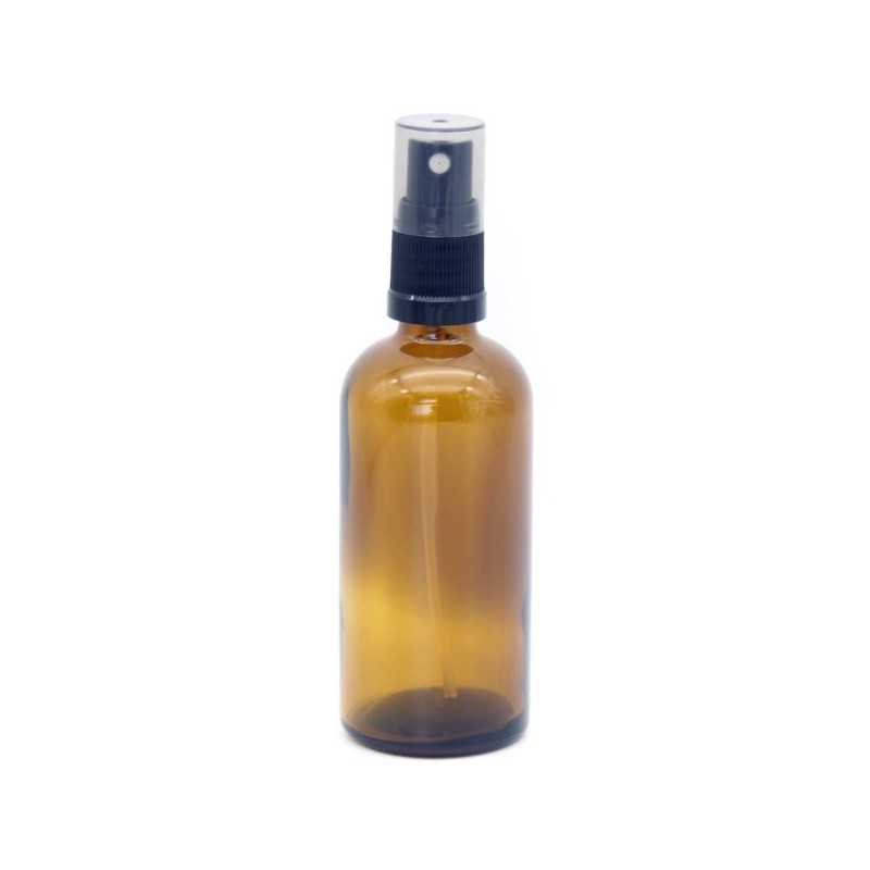 Amber Glass Spray Bottle - 100ml
