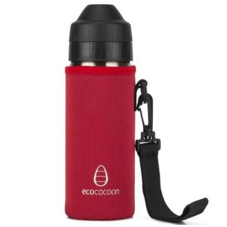 Ecococoon Cuddler 600ml Red Ruby bottle cover