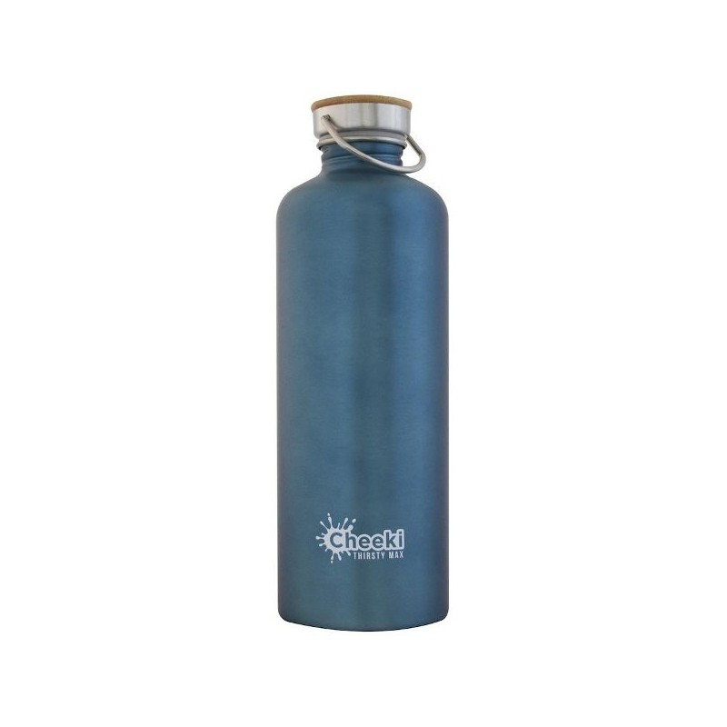 100/%... BPA Free Big Bamboo Sustainable Stainless Steel Water Bottle 600ml