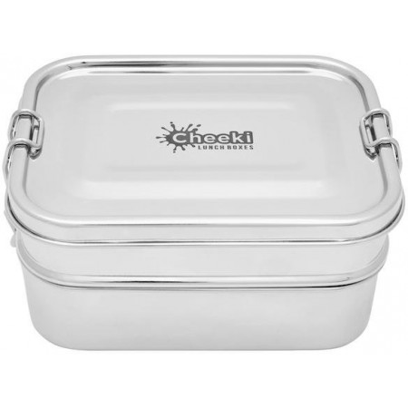 Cheeki Stainless Steel Lunchbox 1L - Double Stack