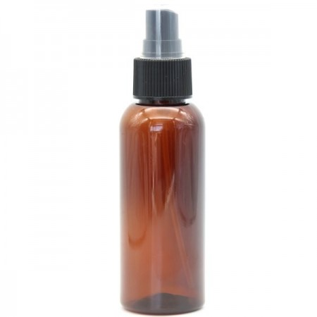 Amber PET Plastic Spray Bottle - 100ml