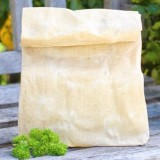 Sustomi Waxed Lunch Bag - Natural