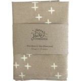 Organic Cotton Handkerchief - Grey Wink