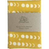Organic Cotton Handkerchief - Mustard Moon
