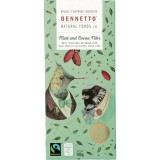 Bennetto Organic Chocolate - Mint & Cocoa Nibs