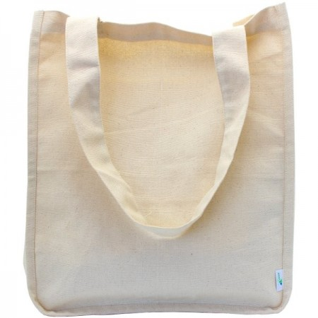 Green Essentials Organic Cotton Canvas Shopping Bag