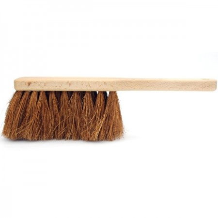 Wooden Coco Fibre Dust Brush