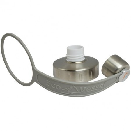EcoVessel Replacement Lid/Strap - Grey
