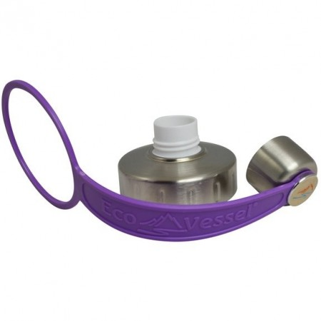 EcoVessel Replacement Lid/Strap - Purple LAST CHANCE!