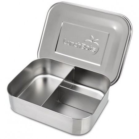 Lunchbots Medium Stainless Steel Lunchbox Trio 2 (New Style)